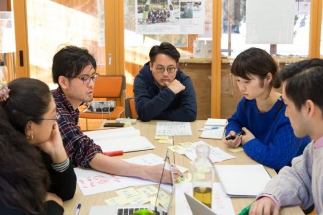 「にしたま創業キャンプ@青梅」でのワークショップの様子